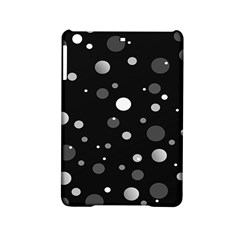Decorative Dots Pattern Ipad Mini 2 Hardshell Cases by ValentinaDesign