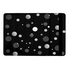 Decorative Dots Pattern Samsung Galaxy Tab Pro 10 1  Flip Case by ValentinaDesign