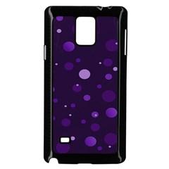 Decorative Dots Pattern Samsung Galaxy Note 4 Case (black) by ValentinaDesign