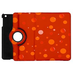 Decorative Dots Pattern Apple Ipad Mini Flip 360 Case by ValentinaDesign