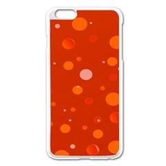 Decorative Dots Pattern Apple Iphone 6 Plus/6s Plus Enamel White Case by ValentinaDesign