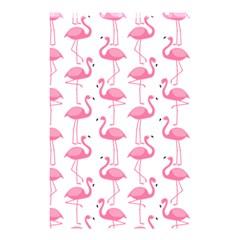Pink Flamingos Pattern Shower Curtain 48  X 72  (small)  by Nexatart