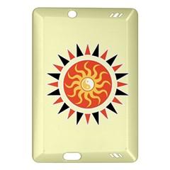 Yin Yang Sunshine Amazon Kindle Fire Hd (2013) Hardshell Case by linceazul