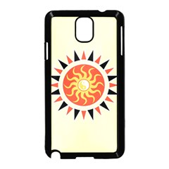 Yin Yang Sunshine Samsung Galaxy Note 3 Neo Hardshell Case (black) by linceazul