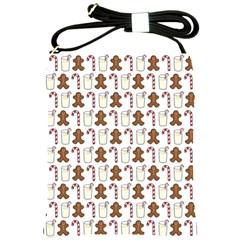 Christmas Trio Pattern Shoulder Sling Bags by Nexatart