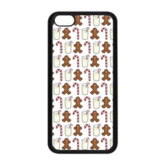 Christmas Trio Pattern Apple Iphone 5c Seamless Case (black) by Nexatart