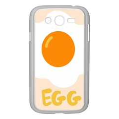 Egg Eating Chicken Omelette Food Samsung Galaxy Grand Duos I9082 Case (white) by Nexatart