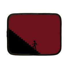 Walking Stairs Steps Person Step Netbook Case (small)  by Nexatart