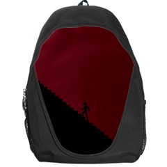 Walking Stairs Steps Person Step Backpack Bag by Nexatart