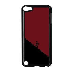 Walking Stairs Steps Person Step Apple Ipod Touch 5 Case (black) by Nexatart