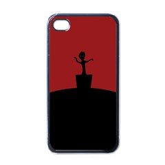 Baby Groot Guardians Of Galaxy Groot Apple Iphone 4 Case (black) by Nexatart