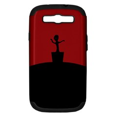 Baby Groot Guardians Of Galaxy Groot Samsung Galaxy S Iii Hardshell Case (pc+silicone) by Nexatart