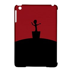 Baby Groot Guardians Of Galaxy Groot Apple Ipad Mini Hardshell Case (compatible With Smart Cover) by Nexatart