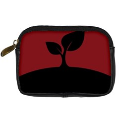 Plant Last Plant Red Nature Last Digital Camera Cases by Nexatart