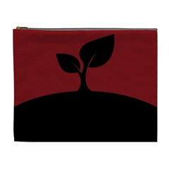 Plant Last Plant Red Nature Last Cosmetic Bag (xl) by Nexatart