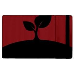Plant Last Plant Red Nature Last Apple Ipad 2 Flip Case by Nexatart