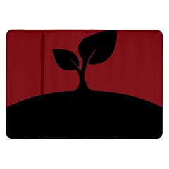 Plant Last Plant Red Nature Last Samsung Galaxy Tab 8 9  P7300 Flip Case by Nexatart