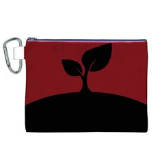 Plant Last Plant Red Nature Last Canvas Cosmetic Bag (xl) by Nexatart