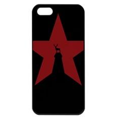 Buck Dear Animal Character Nature Apple Iphone 5 Seamless Case (black) by Nexatart
