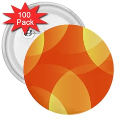 Abstract Orange Yellow Red Color 3  Buttons (100 Pack)  by Nexatart