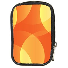 Abstract Orange Yellow Red Color Compact Camera Cases by Nexatart