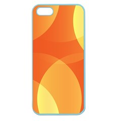 Abstract Orange Yellow Red Color Apple Seamless Iphone 5 Case (color) by Nexatart