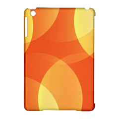 Abstract Orange Yellow Red Color Apple Ipad Mini Hardshell Case (compatible With Smart Cover) by Nexatart