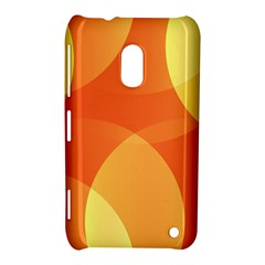 Abstract Orange Yellow Red Color Nokia Lumia 620 by Nexatart