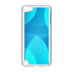 Abstract Blue Wallpaper Wave Apple Ipod Touch 5 Case (white) by Nexatart