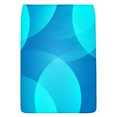 Abstract Blue Wallpaper Wave Flap Covers (s)  by Nexatart