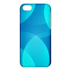 Abstract Blue Wallpaper Wave Apple Iphone 5c Hardshell Case by Nexatart