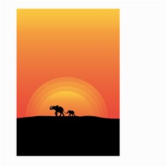 Elephant Baby Elephant Wildlife Large Garden Flag (two Sides) by Nexatart
