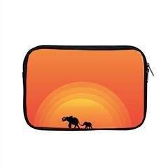Elephant Baby Elephant Wildlife Apple Macbook Pro 15  Zipper Case by Nexatart