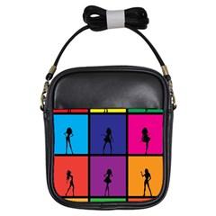 Girls Fashion Fashion Girl Young Girls Sling Bags by Nexatart