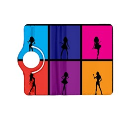 Girls Fashion Fashion Girl Young Kindle Fire Hd (2013) Flip 360 Case by Nexatart
