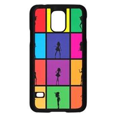 Girls Fashion Fashion Girl Young Samsung Galaxy S5 Case (black) by Nexatart