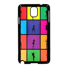 Girls Fashion Fashion Girl Young Samsung Galaxy Note 3 Neo Hardshell Case (black) by Nexatart