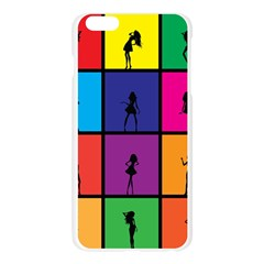 Girls Fashion Fashion Girl Young Apple Seamless iPhone 6 Plus/6S Plus Case (Transparent)