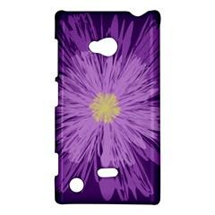 Purple Flower Floral Purple Flowers Nokia Lumia 720 by Nexatart