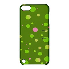 Decorative Dots Pattern Apple Ipod Touch 5 Hardshell Case With Stand by ValentinaDesign