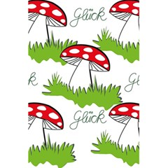 Mushroom Luck Fly Agaric Lucky Guy 5 5  X 8 5  Notebooks by Nexatart