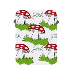 Mushroom Luck Fly Agaric Lucky Guy Apple Ipad 2/3/4 Protective Soft Cases by Nexatart