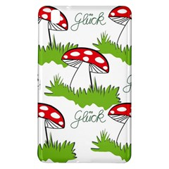 Mushroom Luck Fly Agaric Lucky Guy Samsung Galaxy Tab Pro 8 4 Hardshell Case by Nexatart