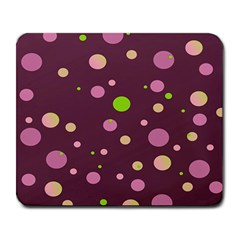 Decorative Dots Pattern Large Mousepads by ValentinaDesign