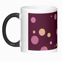 Decorative Dots Pattern Morph Mugs by ValentinaDesign