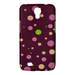 Decorative Dots Pattern Samsung Galaxy Mega 6 3  I9200 Hardshell Case by ValentinaDesign