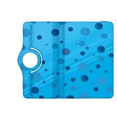 Decorative Dots Pattern Kindle Fire Hdx 8 9  Flip 360 Case by ValentinaDesign