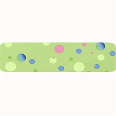 Decorative Dots Pattern Large Bar Mats by ValentinaDesign