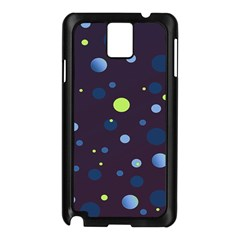 Decorative Dots Pattern Samsung Galaxy Note 3 N9005 Case (black) by ValentinaDesign