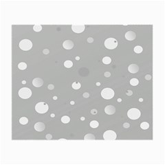 Decorative Dots Pattern Small Glasses Cloth (2 Side) by ValentinaDesign
